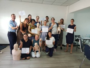 Care for Children Training - CFC - First Aid Training Bangkok CPR