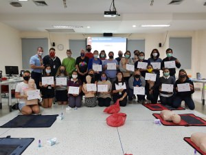 Primary Care CPR & First Aid with AED Course - Regents - First Aid Training Bangkok CPR