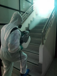 Coronavirus Disease 2019 (COVID-19); Commercial/Residential Disinfecting Service