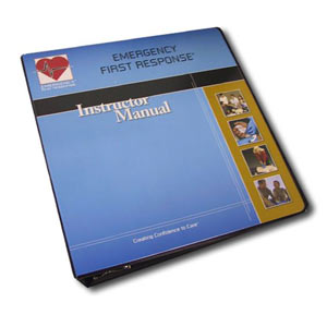 EFR Instructor Trainer Manual with Binder - First Aid Training Bangkok