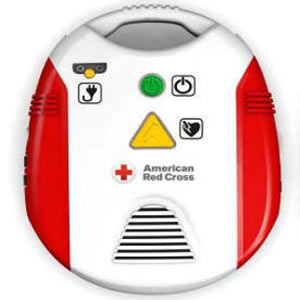 American Red Cross AED Training Unit (with adult & child aed pads) - First Aid Training Bangkok