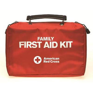 115 Items; Deluxe family first aid kit for the home, car, or small office - First Aid Training Bangkok