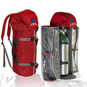 Portable Oxygen Cylinder (aluminium) with lightweight Backpack - First Aid Training Bangkok