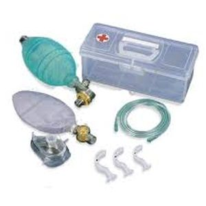 CPR Resuscitation Silicone Bag - First Aid Training Bangkok