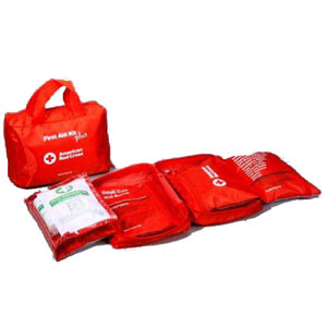 93 Items; Deluxe family first aid kit for the home, car, or small office - First Aid Training Bangkok