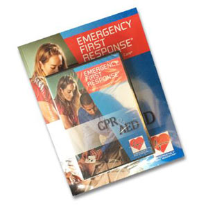 EFR CPR & AED Participant Manual and DVD with Certification Card - First Aid Training Bangkok