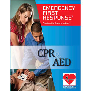 EFR CPR & AED Participant Manual with Certification Card - First Aid Training Bangkok