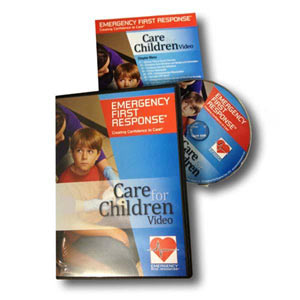 EFR Care for Children DVD (English, French, Spanish) - First Aid Training Bangkok