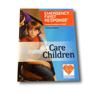 EFR Care for Children Manual with Course Completion Card - First Aid Training Bangkok