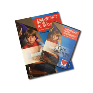 EFR Care for Children Participant Manual and DVD with Course Completion Card - First Aid Training Bangkok
