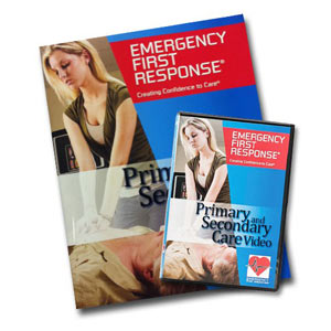 EFR PSC Participant Manual and DVD with Course Completion Card - First Aid Training Bangkok