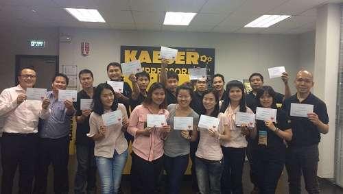 Annual CPR Training at Kaeser Kompressoren Thailand