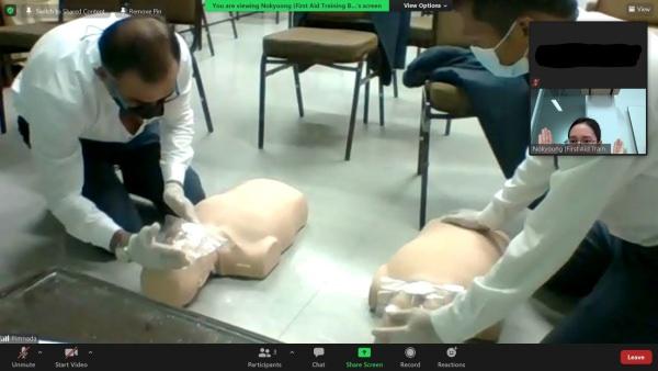 Conrad Hotel LIVE ONLINE First Aid Training