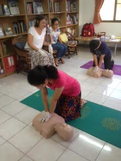 Diakonia International Emergency Response Training in Chiang Mai